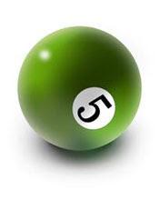 Biljarska zelena kugla broj 5 download besplatne pozadine slike za mobitele