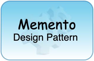 Memento Design Patterns Tutorial