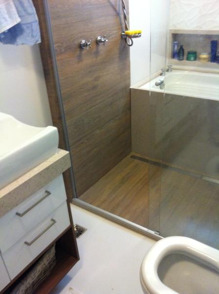 Banheiros Com Revestimento Em Porcelanato : Construindo minha casa clean duvida da leitora dicas de