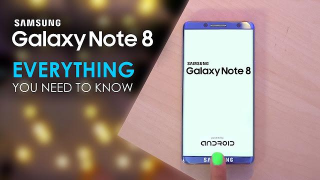 New Galaxy Note 8
