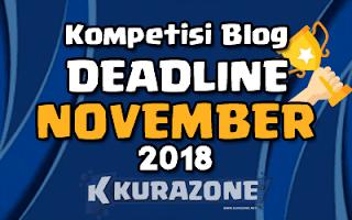 Kumpulan Lomba Blog November 2018 Terbaru