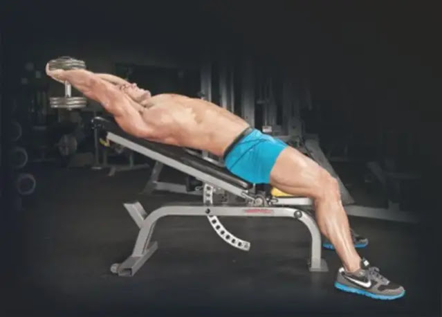 Incline Dumbbell Pullover image