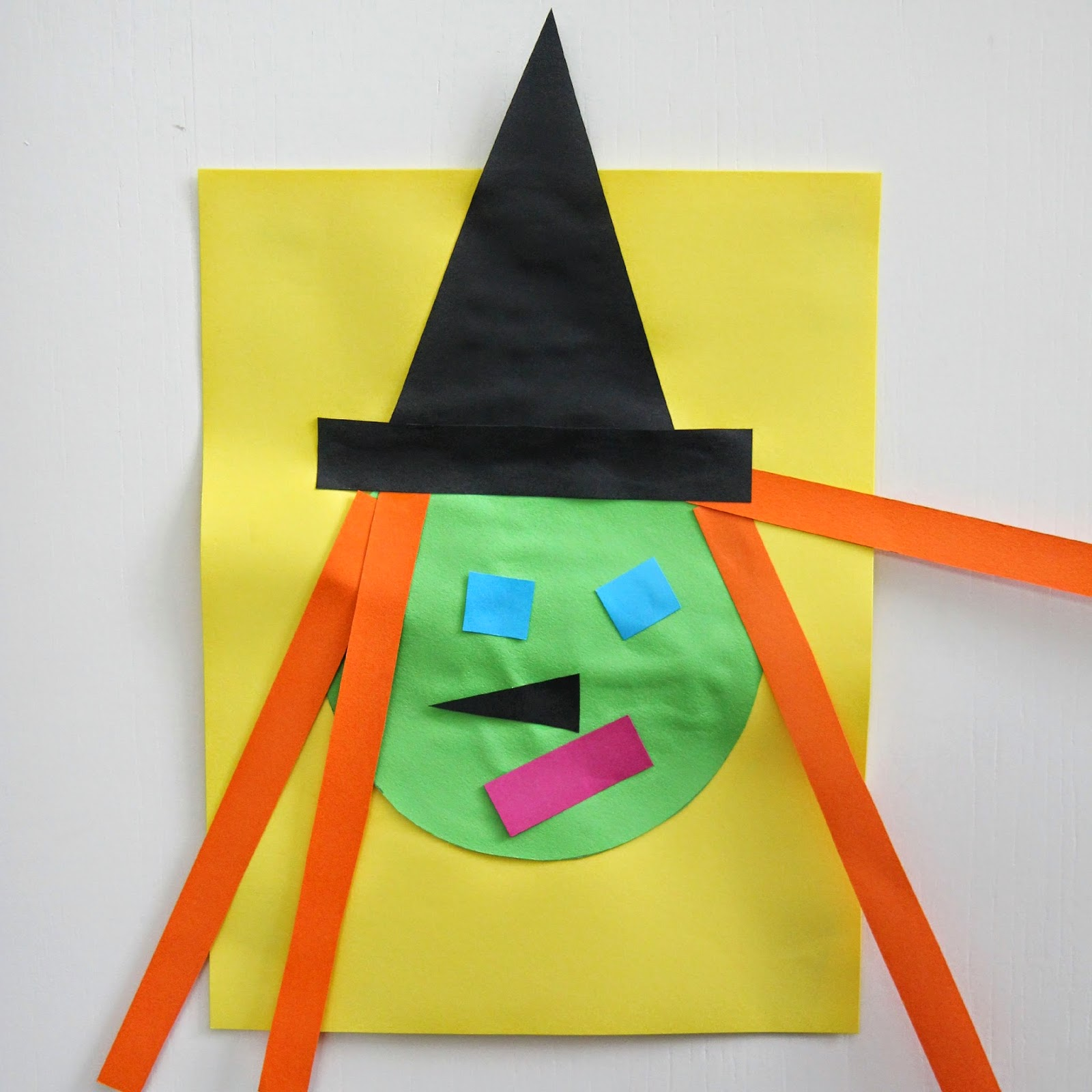 Toddler Approved Witch Shape Craft
