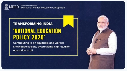 Highlights of NEW NATIONAL EDUCATION POLICY (NEP) 2020 IN INDIA