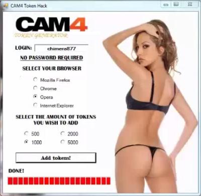 cam4 token hack 2016