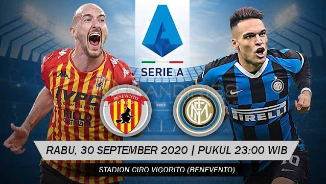 Prediksi Benevento Vs Inter Milan, Rabu 30 September 2020 Pukul 23.00 WIB