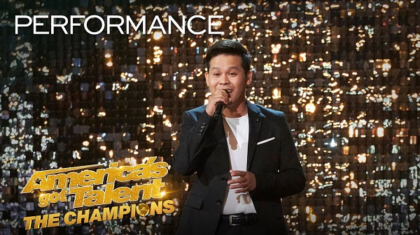 """Marcelito Pomoy wows again with Andrea Bocelli song on """"AGT: The Champions"""" Semi-Finals"""