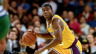 """Earvin """"Magic"""" Johnson Jr. is an American former professional basketball player. He is former president of basketball operations of the Los Angeles Lakers of the National Basketball Association (NBA). Johnson is widely regardregarded as one of the greatest players in NBA history. Johnson coached the Los Angeles Lakers in 1994."""