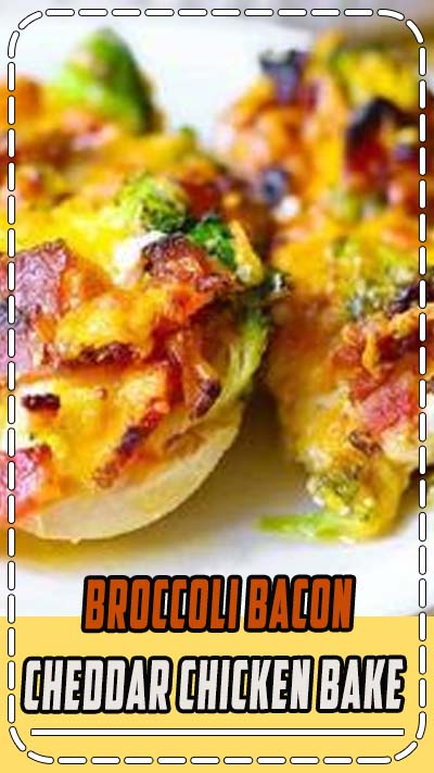 Broccoli Bacon Cheddar Chicken Bake (VIDEO RECIPE). Just throw everything on top of chicken in casserole dish, and then bake in one pan for 30 minutes! Done! Low-carb, gluten-free, keto friendly chicken recipe. #keto #lowcarb #glutenfree #chicken #chickenbake #video