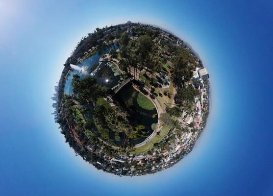 Pano Sphere DJI Spark Digitografi
