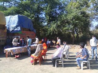 थाना भेडाघाट में शिविर लगाकर 142 व्यक्तियों को किया गया बाउंड ओवर
