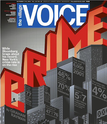 Crime on the Rise Cover of the Village Voice