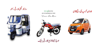 electric car rickshaw motorcycle business in pakistan