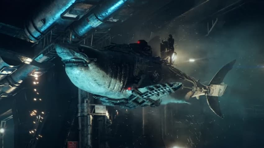 Бессмертные зомби-нацисты на акулах-ракетах - вышел трейлер комедийного хоррора Sky Sharks