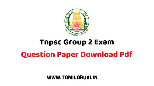 TNPSC GROUP 2 & 2A   2019  தேர்வுக்கு  SHANKAR IAS ACADEMY வெளியிட்ட  முழு மாதிரி வினா விடை 2019 Paper-7