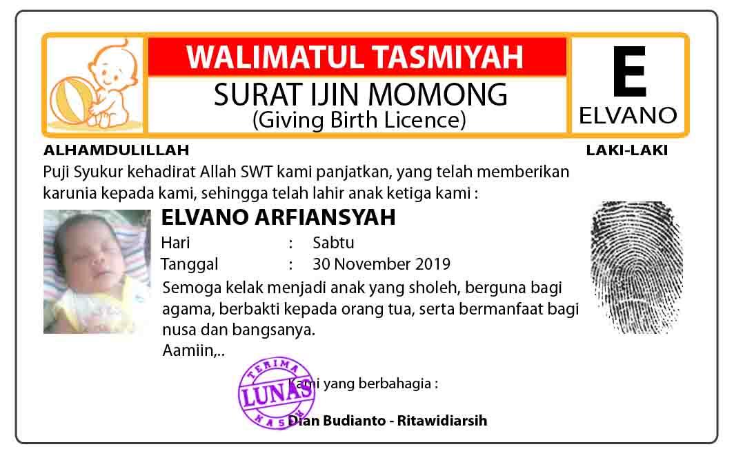 Download Desain Kartu Ucapan Aqiqah (Kelahiran Anak) Model ...