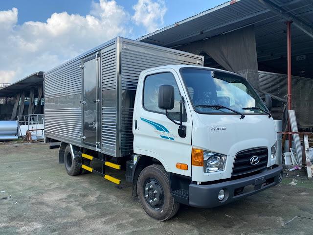 Xe tải Hyundai 75s thùng kín