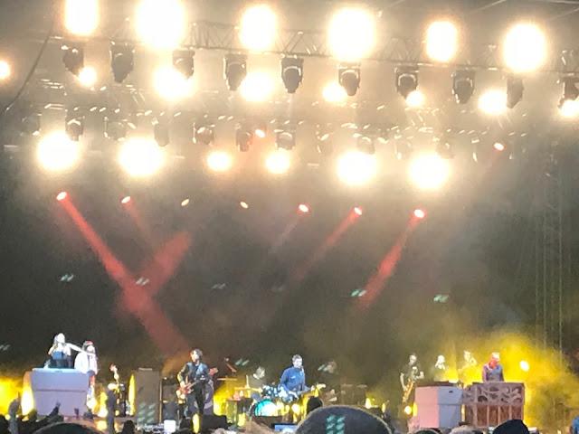 Bingley Music Live Festival 2018 who we saw - Noel Gallagher