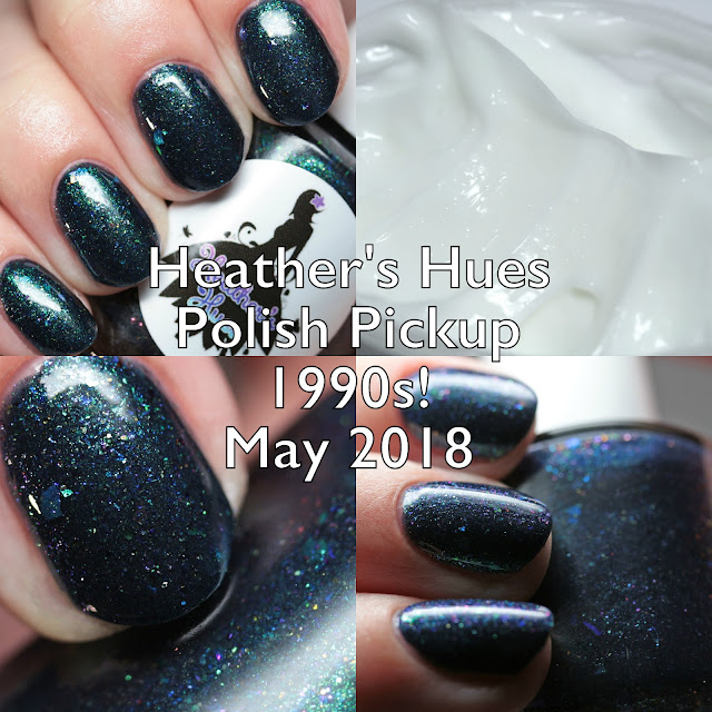 Heather's Hues Polish Pickup 1990s! May 2018