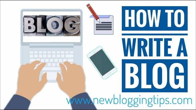 ब्लॉग कैसे लिखें ( How to write a Blog ) - Newbloggingtips