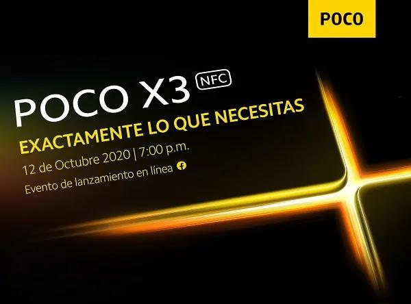 POCO X3 NFC EN PERÚ OFICIAL