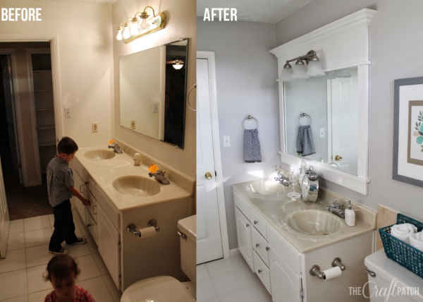 Diy home sweet home diy bathroom remodeling on a budget for Remodeling your bathroom on a budget
