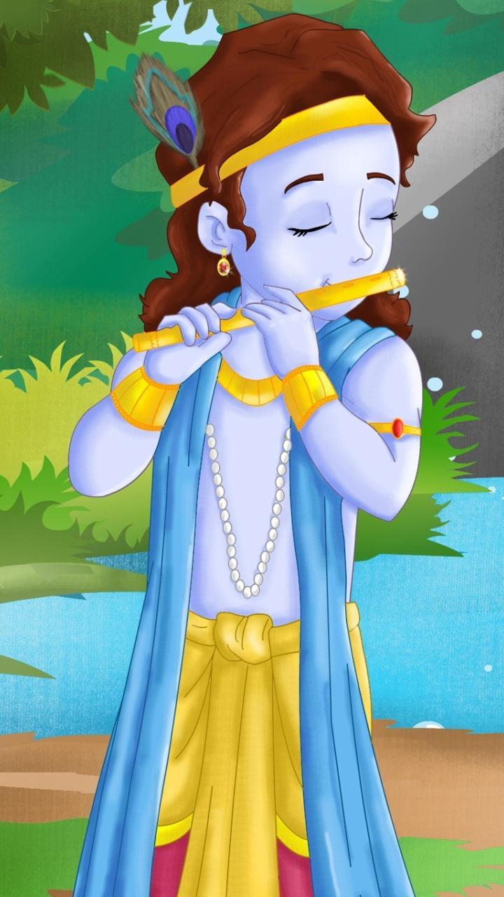 baal Lord Krishna Wallpapers HD