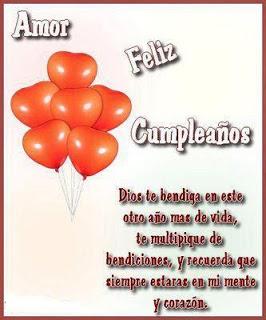 Amor Feliz Cumpleaños