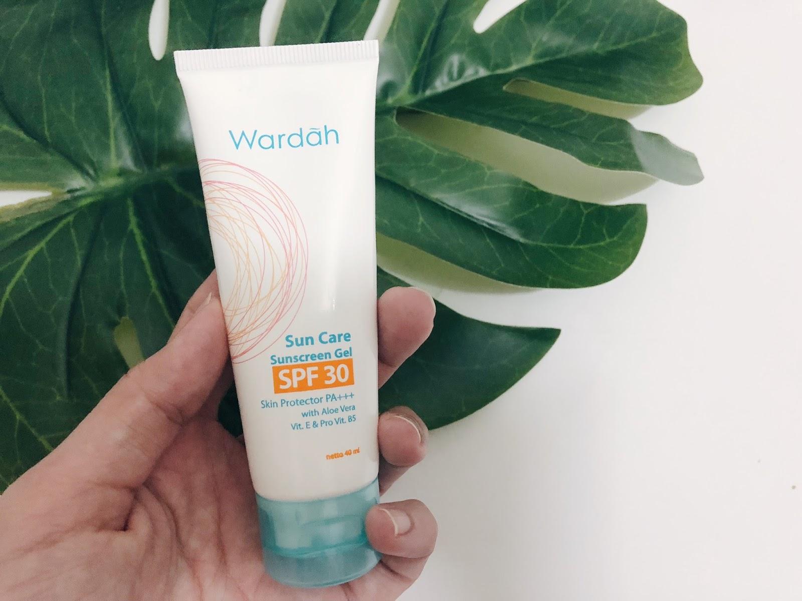 Wardah Sun Care Sunscreen Gel SPF30 Review ~ IMAN ABDUL RAHIM