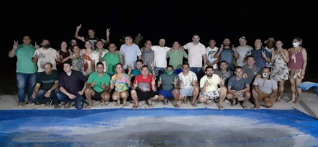 Em reunião do partido situacionista, PDT, grupo mostra união em prol da campanha de Zé Maria.
