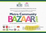 MRSGI celebrates CSR month with the Metro Community Bazaar