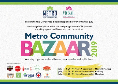 MRSGI celebrates CSR month with the Metro Community Bazaar