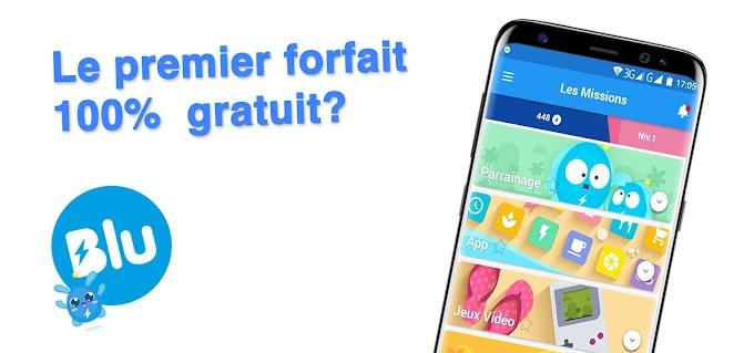 Blu, le premier forfait mobile gratuit  (2019)