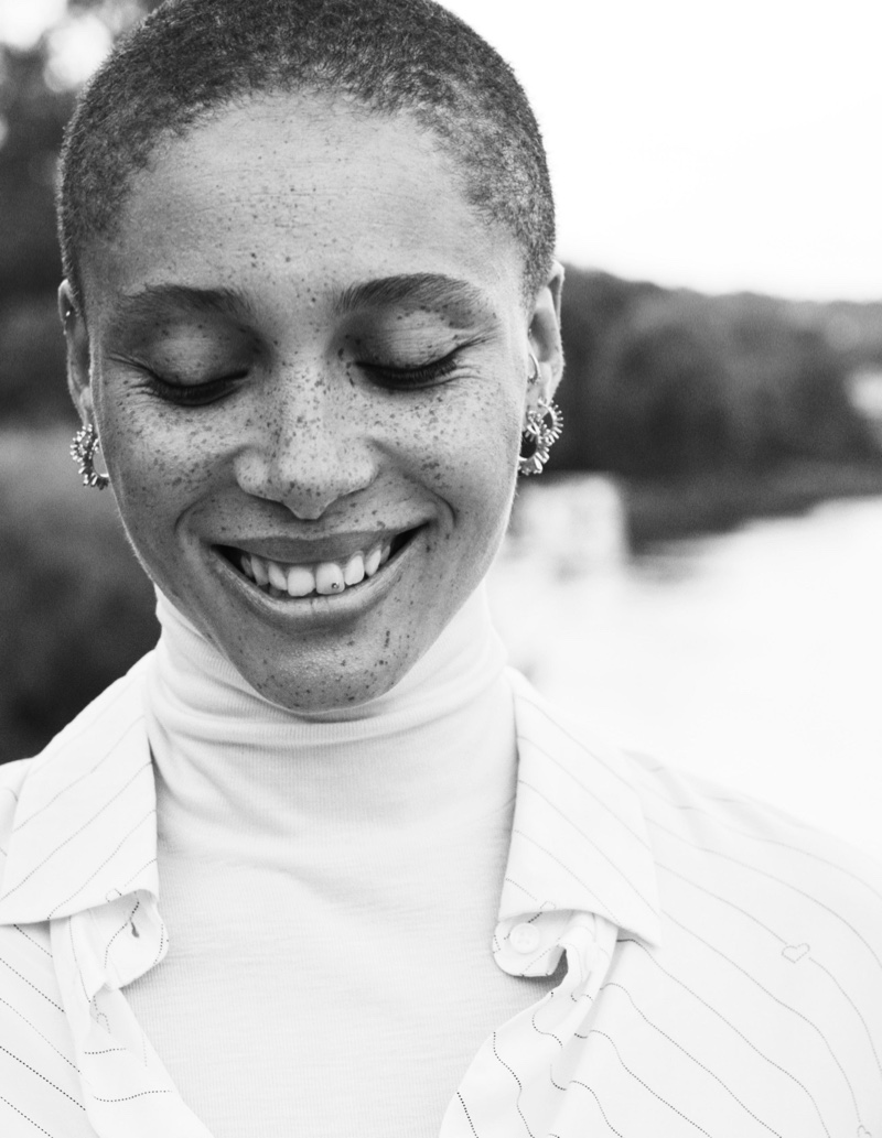 Adwoa Aboah Relaxes in H&M Conscious Fall 2019 Campaign