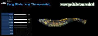Detail Statistik Fang Blade Latin Championship