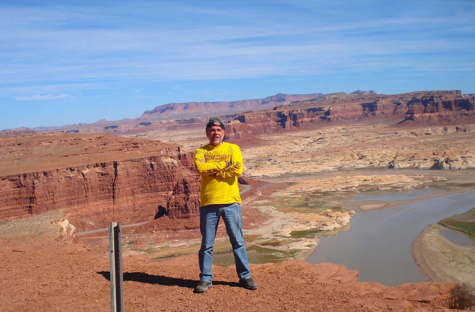 Rio Colorado, Rota 66 nos EUA.