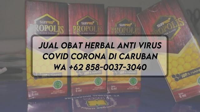 Jual Obat Herbal Anti Virus Covid Corona di Caruban