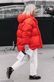 piumino oversize come abbinare il piumino oversize idee outfit piumino oversize tendenze inverno 2020 outfit street style piumino oversize mariafelicia magno fashion blogger colorblock by felym fashion blogger italiane fashion bloggers italy