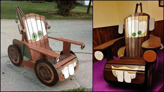 14 Inspirasi desain kursi anak lucu