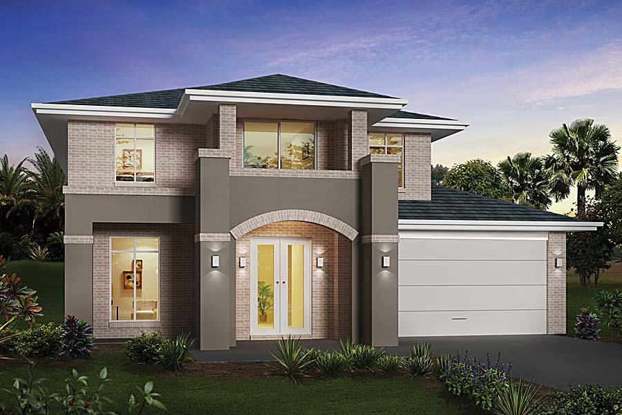 New home designs latest modern house designs for Simple modern house models