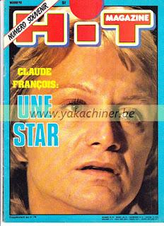 Hit Magazine, numéro 51, Claude François, une star, 1978