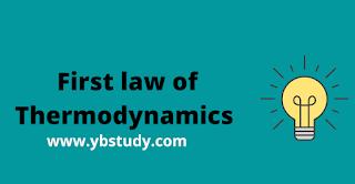 1st law of thermodynamics mcq