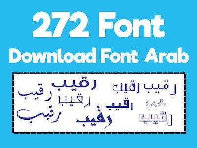 download font arab