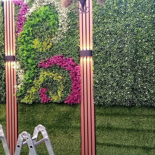 شركة توريد وتركيب العشب الجداري بالطائف