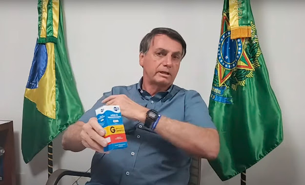 'Não recomendo', diz Bolsonaro sobre tratar covid-19 com hidroxicloroquina