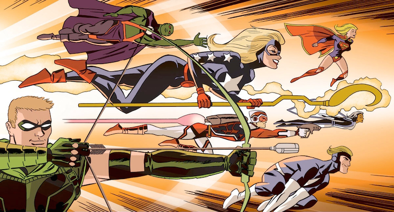 Justice League United #7 by Darwyn Cooke.