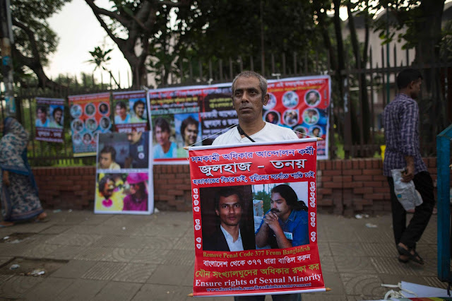 Remembrance of LGBT activists Xulhaz Mannan murder in Dhaka