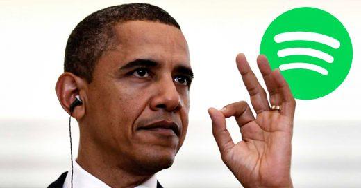 Spotify le ofrece empleo a Obama al dejar la Casa Blanca