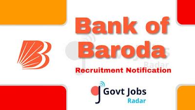 BOB recruitment notification 2019, govt jobs in India, central govt jobs, govt jobs for graduate, banking jobs