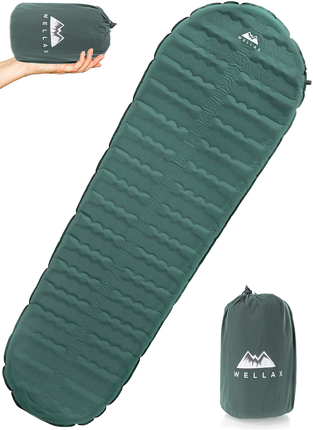 Wellax Ultra Self Inflating Sleeping Pad
